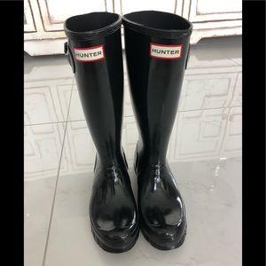 Hunter Rain Boots - size 4b/5g